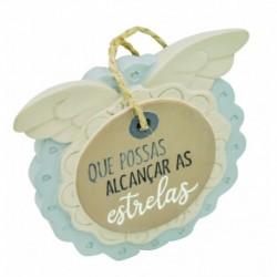 """Placa Decorativa """"Alcançar Estrelas"""" REF. PHA 021"""
