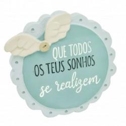 """Placa Decorativa """"Que os Sonhos"""" REF. PHA 034"""
