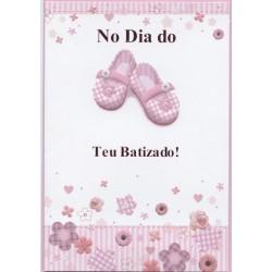 CARTOES BATIZADO C/ENV.REF.PAPER WISH