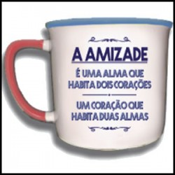 "Caneca Vintage ""A Amizade"" REF. VM015"