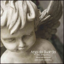 CANVAS ART - ANJO DA GUARDA.REF.CV 016