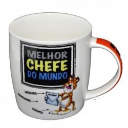 """Caneca """"Melhor Chefe"""" Ref.MCM2 - 039"""