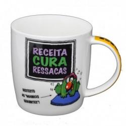 """Caneca """"Receita Cura-Ressacas"""" Ref.MCM2 - 043"""