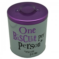 ONE BISCUIT PER...TIN.REF.BSTIN80
