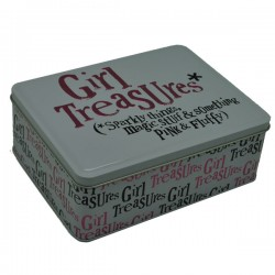 GIRL TREASURES TIN .REF.BSTIN52