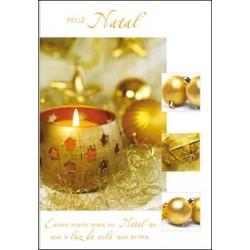 CARTOES NATAL   C/ENV.REF.CHRISTMAS GLAMOUR
