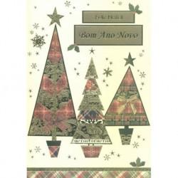 CARTOES NATAL C/ENV.REF. CHRISTMAS JOY