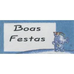 ETIQUETAS NATAL C/FIO.REF.MECANODEX