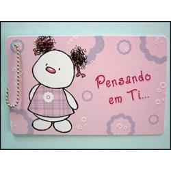 """MINICARD TIPO """"CARTÃO DE CRÉDITO"""" REF. 24"""
