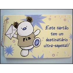 """MINICARD TIPO """"CARTÃO DE CRÉDITO"""" REF. 35"""