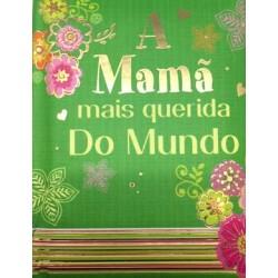 """MINI LIVRO """"MAMÃ"""" REF. ABL 009"""