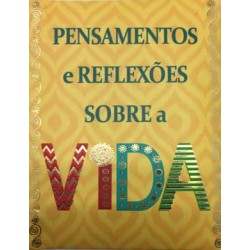 """MINI LIVRO """"VIVER A VIDA"""" REF. ABL 024"""