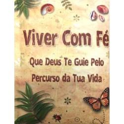 "MINI LIVRO ""A VIDA COM FÉ"" REF. ABL 022"