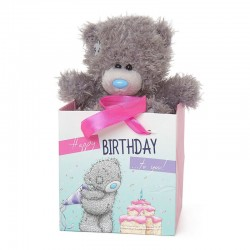 MTY PELUCHE M5 IN GIFT BAG BIRTHDAY REF.G01W4068