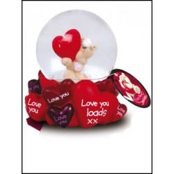 "FIZZY SNOWGLOBE ""LOVE"" REF.64104"